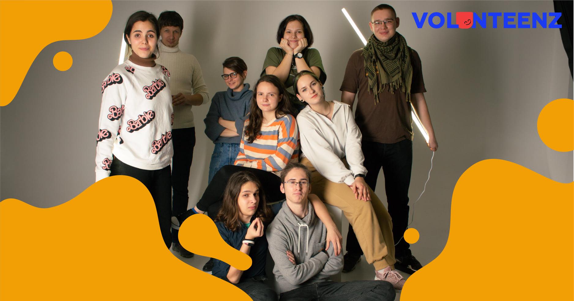 Підлітки Запоріжжя створили власний волонтерський рух – VolunTeenZ